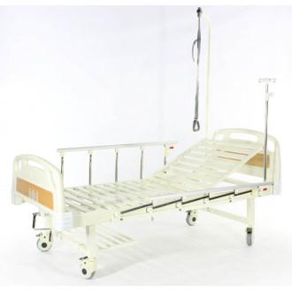 Кровать c механ.приводом Belberg 17B-1Л, 1 функция, пластик (без матраса+столик) в Краснодаре