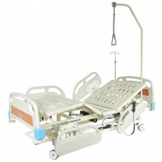 Кровать функциональная с электроприводом Belberg-3-79 с выдвиж.ложементом (5 функ) (CPR+аккум) в Краснодаре