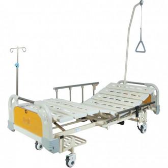 Кровать функциональная с электроприводом Belberg 6-67 (2 функции) с ростоматом, (без матраса) пластик в Краснодаре