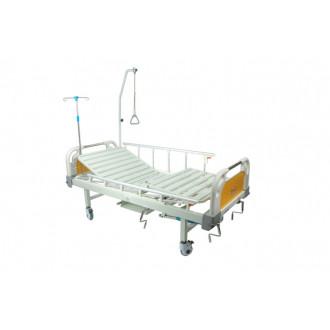 Кровать с механическим приводом Belberg 8-20 (2 функции) пластик с туалетным устройством в Краснодаре