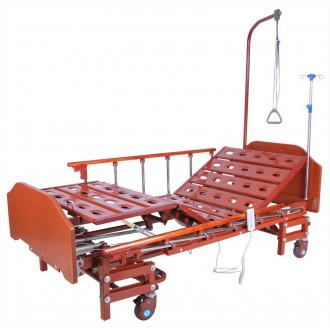 Кровать с электроприводом Belberg 6-066H, 3 функц. с ростоматом ЛДСП (без матраса+столик) в Краснодаре