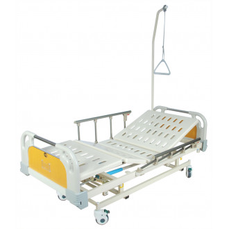 Кровать с механ.приводом Belberg 31-26, 3 функц. с ростоматом ПЛАСТИК(без матраса+столик) в Краснодаре