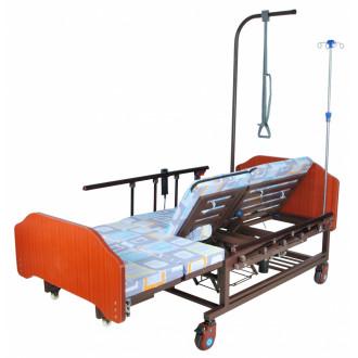 Кровать с электроприводом Belberg 11A-121ПН, 5 функц. туал.устр. ЛДСП (против.матрас) в Краснодаре