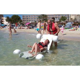 Кресло-коляска пляжная плавающий шезлонг Observer экслюзив