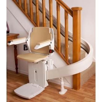 Подъемник кресельный лестничный Acorn 180 - для изогнутых лестниц