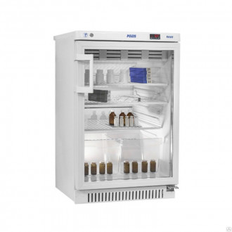 Холодильник фармацевтический малогабаритный ХФ-140-1 со стеклянной дверью (140 л) в Краснодаре