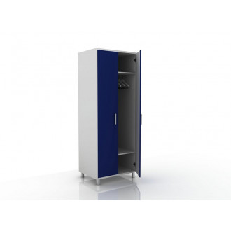 Шкаф для одежды (в комплекте перекладина хром, полки) 105-001-1 в Краснодаре