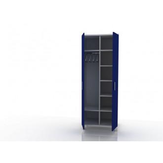 Шкаф для одежды (в комплекте перекладина хром, полки) 105-001-9 в Краснодаре
