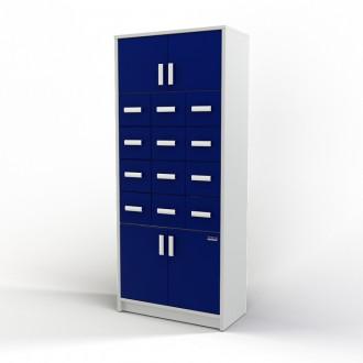 Шкаф картотечный (глухие дверцы) 105-004-2 в Краснодаре
