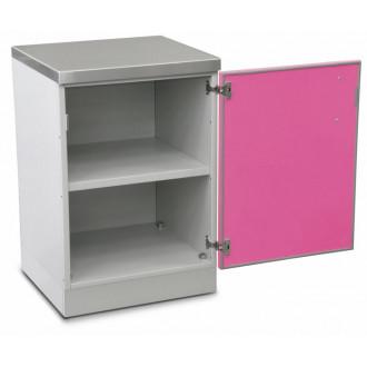 Шкаф медицинский нижний для хранения инструментов и перевязочного материала (с полками, одностворчатый) в Краснодаре