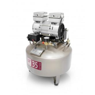 Компрессор стоматологический безмасляный W-602 в Краснодаре