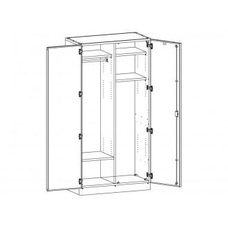 Шкаф медицинский МШ-2-06 для хранения инструментария в Краснодаре