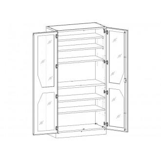 Шкаф медицинский МШ-2-04 для медикаментов в Краснодаре
