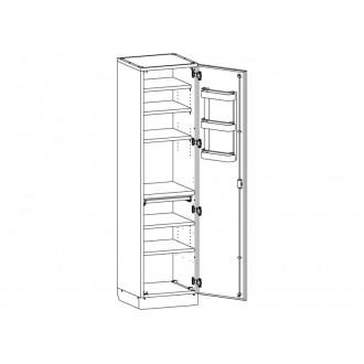 Шкаф медицинский МШ-1-01 без сейфа для медикаментов в Краснодаре