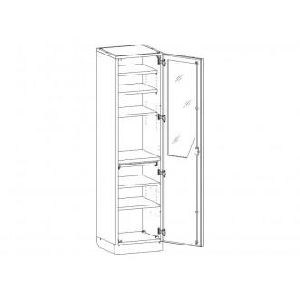 Шкаф медицинский МШ-1-05 для инструментария и медикаментов в Краснодаре