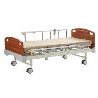 Кровать электрическая  с деревянными спинками в Краснодаре