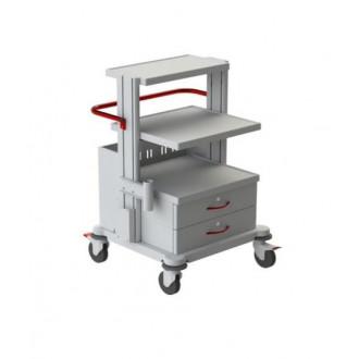 Тележка медицинская функциональная ТМ-9 (для гинекологического кабинета, приборная) в Краснодаре