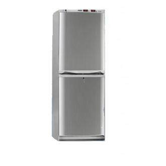 Холодильник фармацевтический двухкамерный ХФД-280 (140/140 л) с дверями из металлопласта серебряного цвета в Краснодаре