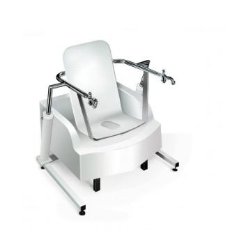 Медицинская гинекологическая сидячая ванна с подъемником Модель 2.9-4 в Краснодаре