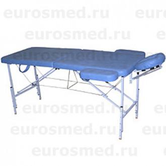 Массажный стол MedMebel №2 с валиком и подлокотниками в Краснодаре