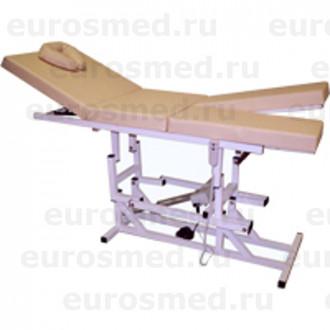 Массажная кушетка MedMebel №29 электропривод в Краснодаре