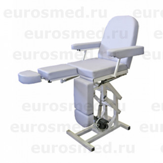 Педикюрное кресло MedMebel №3м с четырьмя электроприводами в Краснодаре