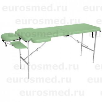 Массажный стол MedMebel №52 с подголовником и подлокотниками в Краснодаре
