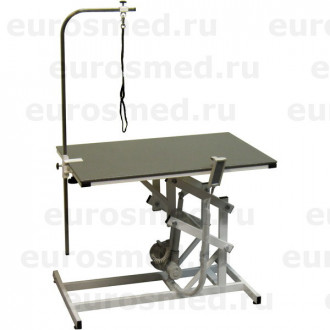 Стол ветеринарный универсальный для груминга СВУ с электроприводом и полимерным покрытием в Краснодаре