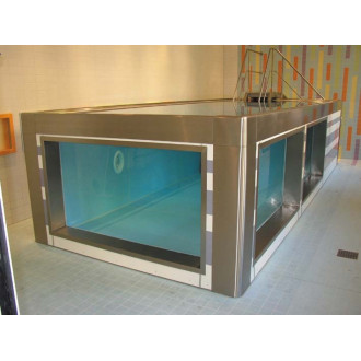 Модульный бассейн из нержавеющей стали для реабилитации в воде в Краснодаре