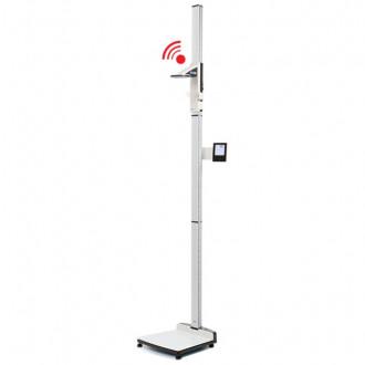 Весы медицинские платформенные с электронным ростомером seca 285 в Краснодаре