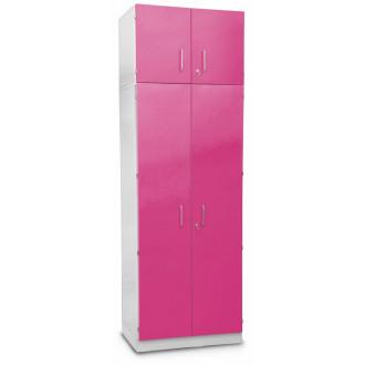 Шкаф медицинский высокий для хранения медикаментов (с полками и антресольным шкафом) в Краснодаре