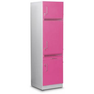 Шкаф медицинский  высокий для хранения медикаментов (для установки встроенного холодильника) в Краснодаре