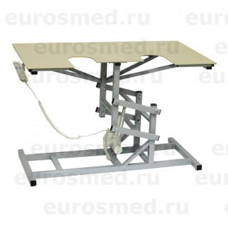 Стол ветеринарный универсальный СВУ-19 э/привод для УЗИ и эхо процедур в Краснодаре