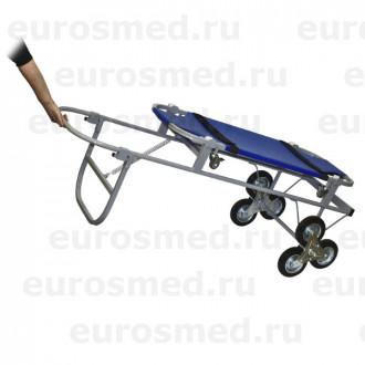 Тележка ветеринарная с носилками ПВХ, со строенными колесами СВУ-20.12 в Краснодаре