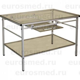 Стол ветеринарный СВУ-23 для рентгена с выдвижной полкой в Краснодаре