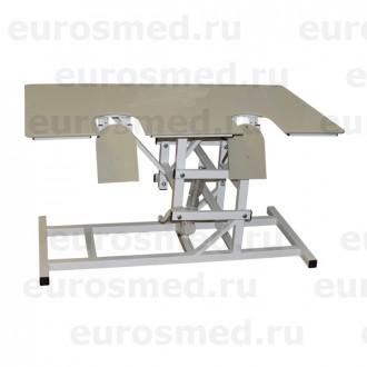 Стол ветеринарный универсальный СВУ-29 с опускающимися створками для УЗИ в Краснодаре