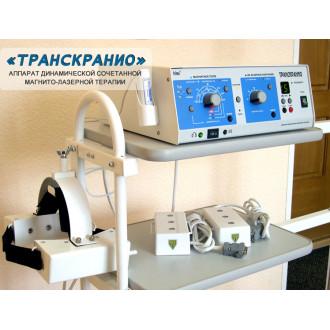 Аппарат ТРАНСКРАНИО динамической сочетанной магнито-лазерной терапии в Краснодаре