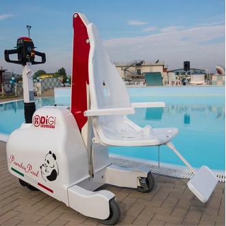 Подьёмник для бассейна и набережной DiGi PandaPool  в Краснодаре