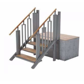Лестница-трансформер FlexStep V2 / 4 ступеньки / высота подъёма до 925 мм в Краснодаре